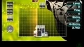 Lumines II PSP Clip