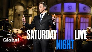 Seth Meyers' SNL Time With Trump and Kanye