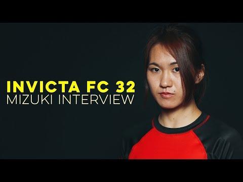 Invicta FC 32: Mizuki Interview