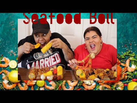 SEAFOOD BOIL + BLOVE SMACKALICIOUS SAUCE from YouTube · Duration:  35 minutes 34 seconds