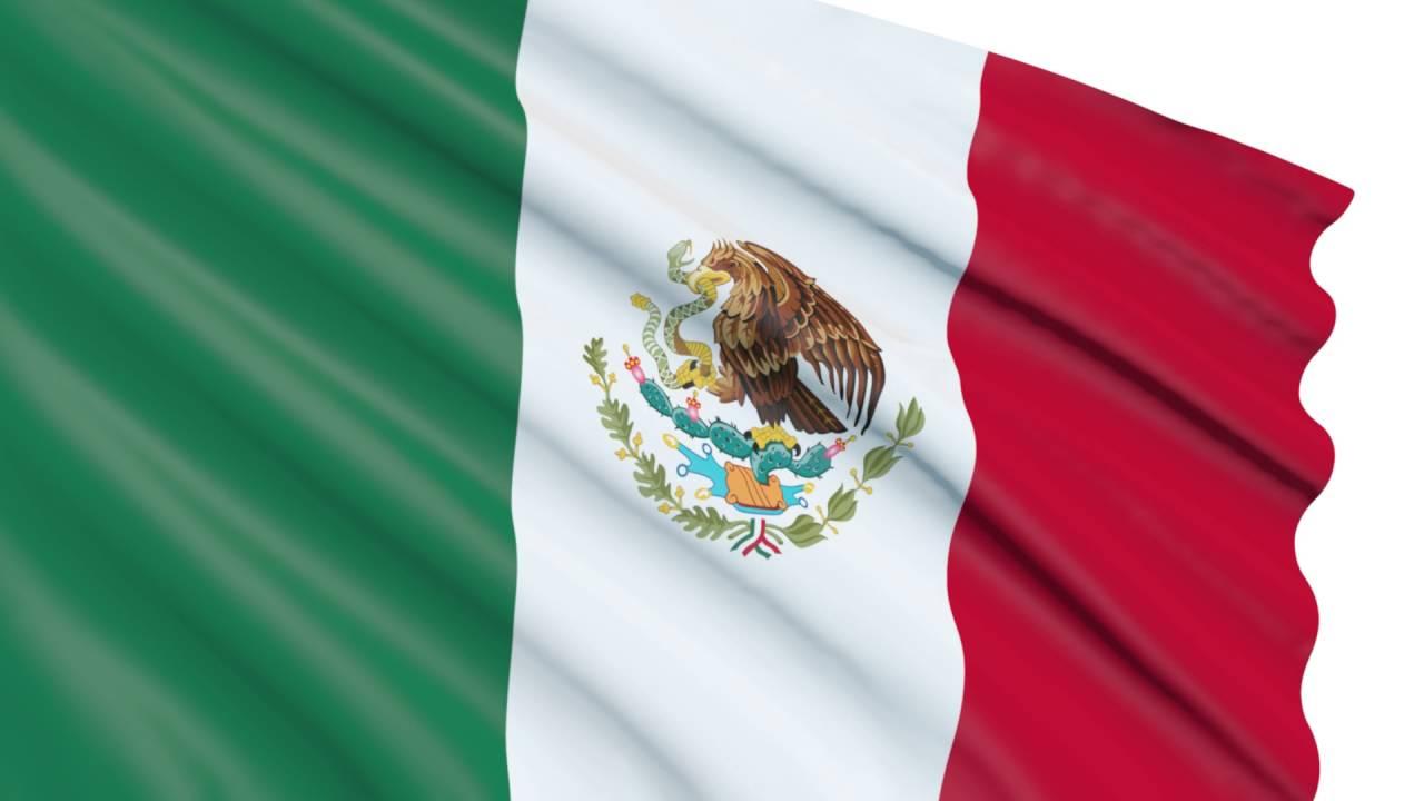 Bandera De México 3D Animada Gratis LOOP