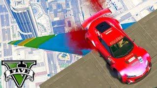 GTA V Online: A MEGA RAMPA de MARCHA RÉ?! (OLOCOO)