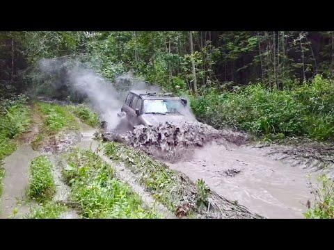 Как мы ищем трассы) в поисках грязи) + УАЗ BWT