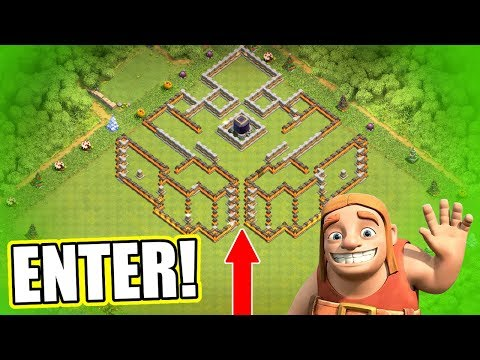 THE DARK CASTLE!! CAN ANYONE GET IN!? - Clash Of Clans