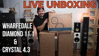 Скачать Wharfedale Diamond 11 1 Crystal 4 3 Speakers Unboxing And First Impressions