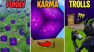 10 Photos Taken SECONDS Before Disaster! FUNNY vs KARMA vs TROLLS! Fortnite Funny Moments