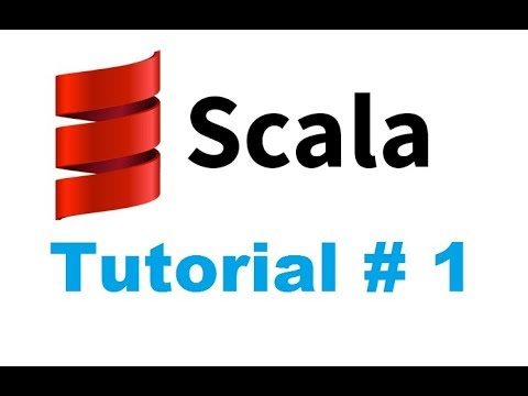 Scala Tutorial 1 - Introduction to Scala