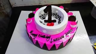 Black forest fancy cake model
