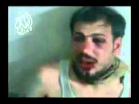 الجندي السوري الي كان يدوس على المتظاهرين