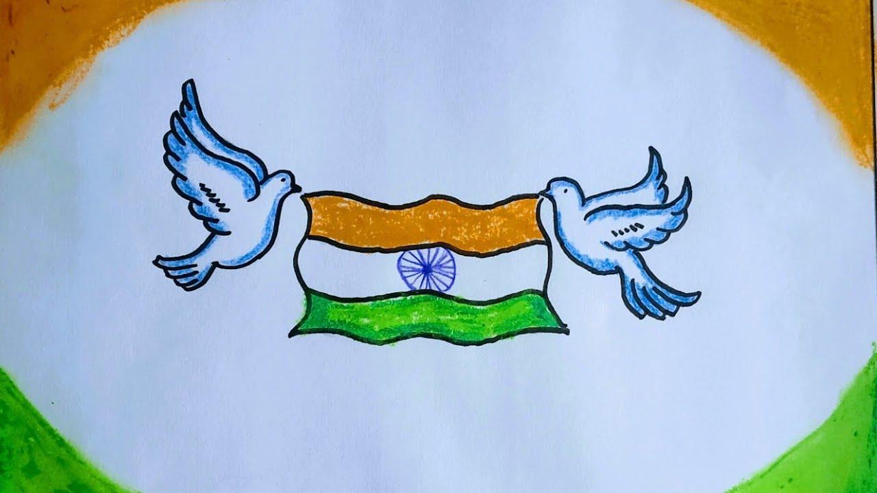 Рисунок ко дню независимости