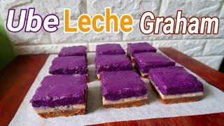 Ube Leche Graham Recipe |  How to make Ube Leche Graham