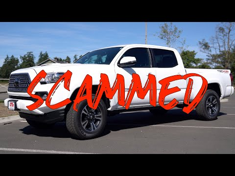 NEVER Buying From Robert Larson Toyota Of Tacoma Again | 2019 Toyota Tacoma TRD Sport