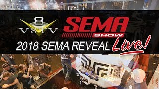 2018 SEMA Reveal Live Coverage from V8TV Monday 10/29 5:00 PM PST