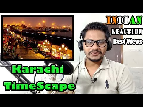 Indian Reacts To Best views Of karachi City | Karachi TimeScape | Reacted By krishna Views