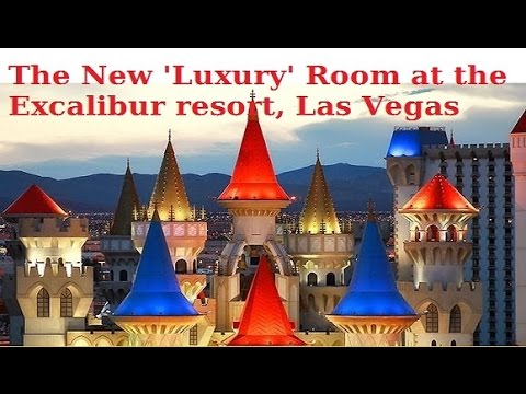 The New Room at Excalibur: Royal Tower Room - luxury for a few dollars? from top-buffet.com