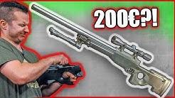 WELL Airsoft Sniper L96 Review GsP Airsoft Deutsch  🎯