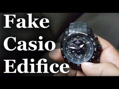 e7fbe6944408 FAKE CASIO EDIFICE - EBAY INDIA - YouTube