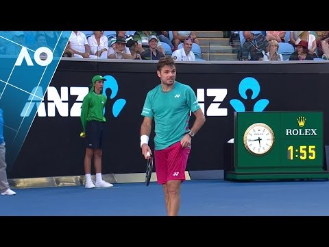 Wawrinka corrects confused Federer fan | Australian Open 2017
