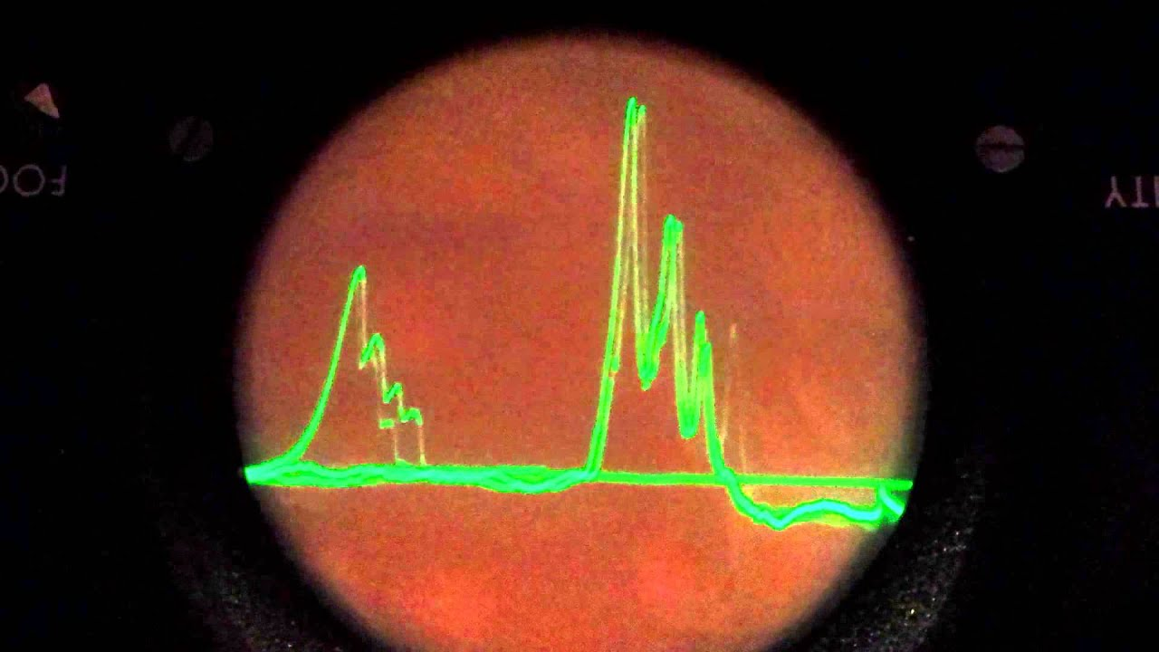 Homemade spectrum analyzer - first test