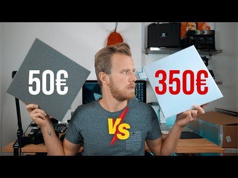 50€ VS 350€ MOUSSE ACOUSTIQUE