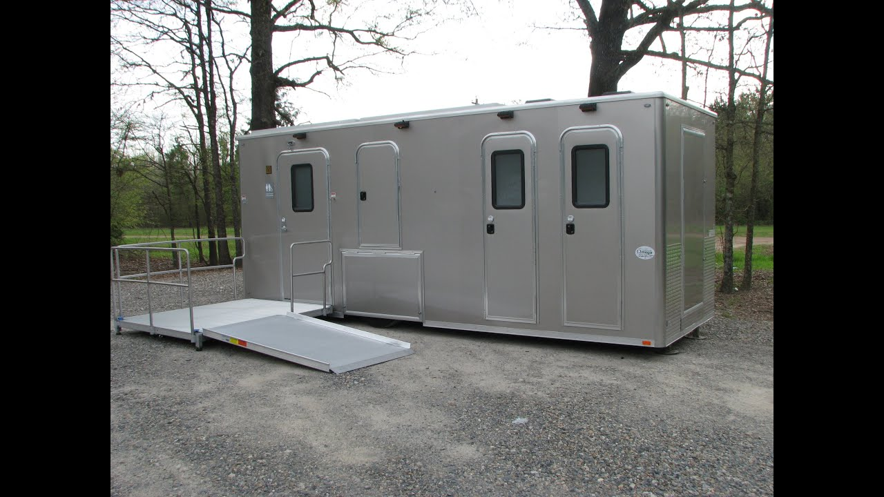 biffs door trailer products and luxury ft trailers services bathroom rental special portable station restroom premier