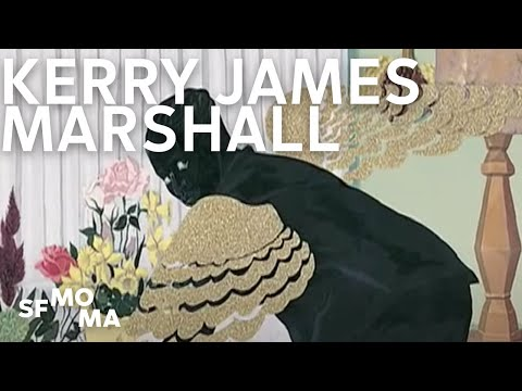 Kerry James Marshall's relationship to art history - YouTube