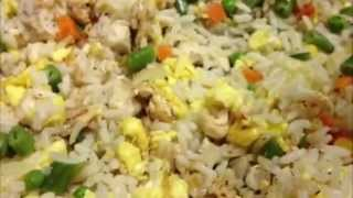 Chicken Fried Rice Recipe Indo Chinese cooking