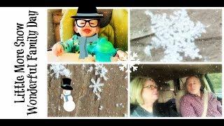 A Little Snow // MawMaw Luv // Boys & Papa Dancing