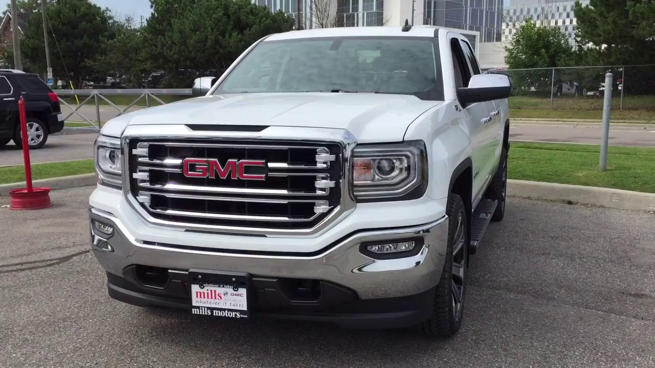 2018 gmc z71 sierra. modren 2018 2018 gmc sierra 1500 slt 4wd z71 suspension summit white oshawa on stock  180030 throughout gmc z71 sierra u