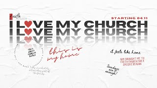 I Love My Church | Pastor Kelli Mamadaliyev | 10:30am