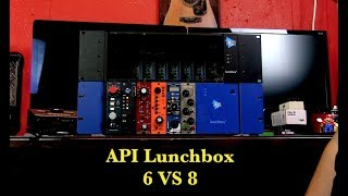 API Lunchbox 6 VS 8 (Differences)