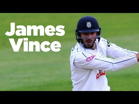 In the England Test squad: James Vince scoring runs for Hampshire in 2016