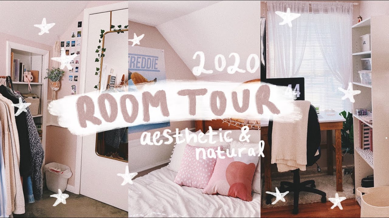 ROOM TOUR 2020: natural + cozy aesthetic :)