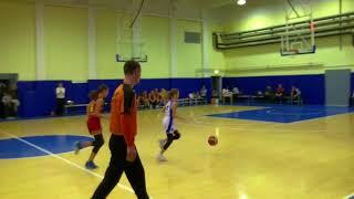 Баскетбол девушки 2005 Динамо Глория2 первенство москвы 2017 2018г