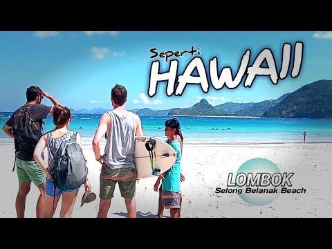 wisata-🌴-sisi-lain-pantai-lombok---seperti-hawaii...?