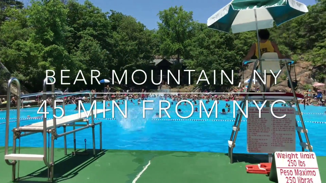 bear mountain state park public pool - 45 min from nyc - youtube