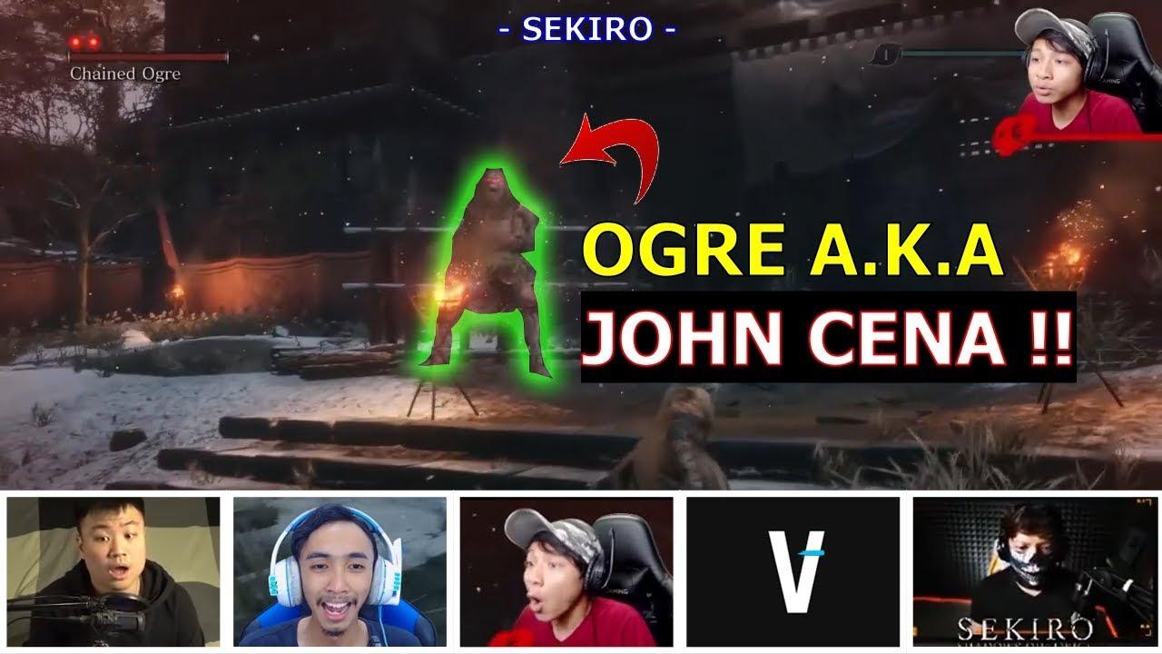 Reaksi Gamer Koalapo dkk Bertemu Ogre Smack Down dan Detik2 Kematiannya   VianoGaming   PlayWithRega