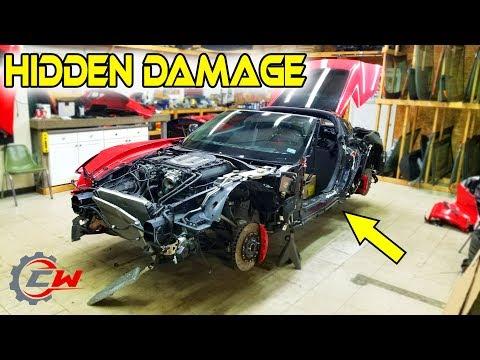 Rebuilding a Wrecked 2016 Corvette Z06 (Part 2)   'Still a Better Deal Then Copart'
