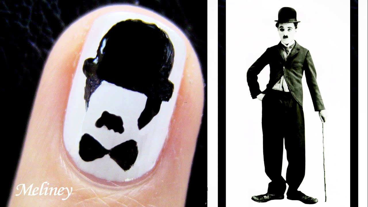 Movember nail art tutorial charlie chaplin moustache nail design movember nail art tutorial charlie chaplin moustache nail design for short nails comedy portrait youtube prinsesfo Choice Image