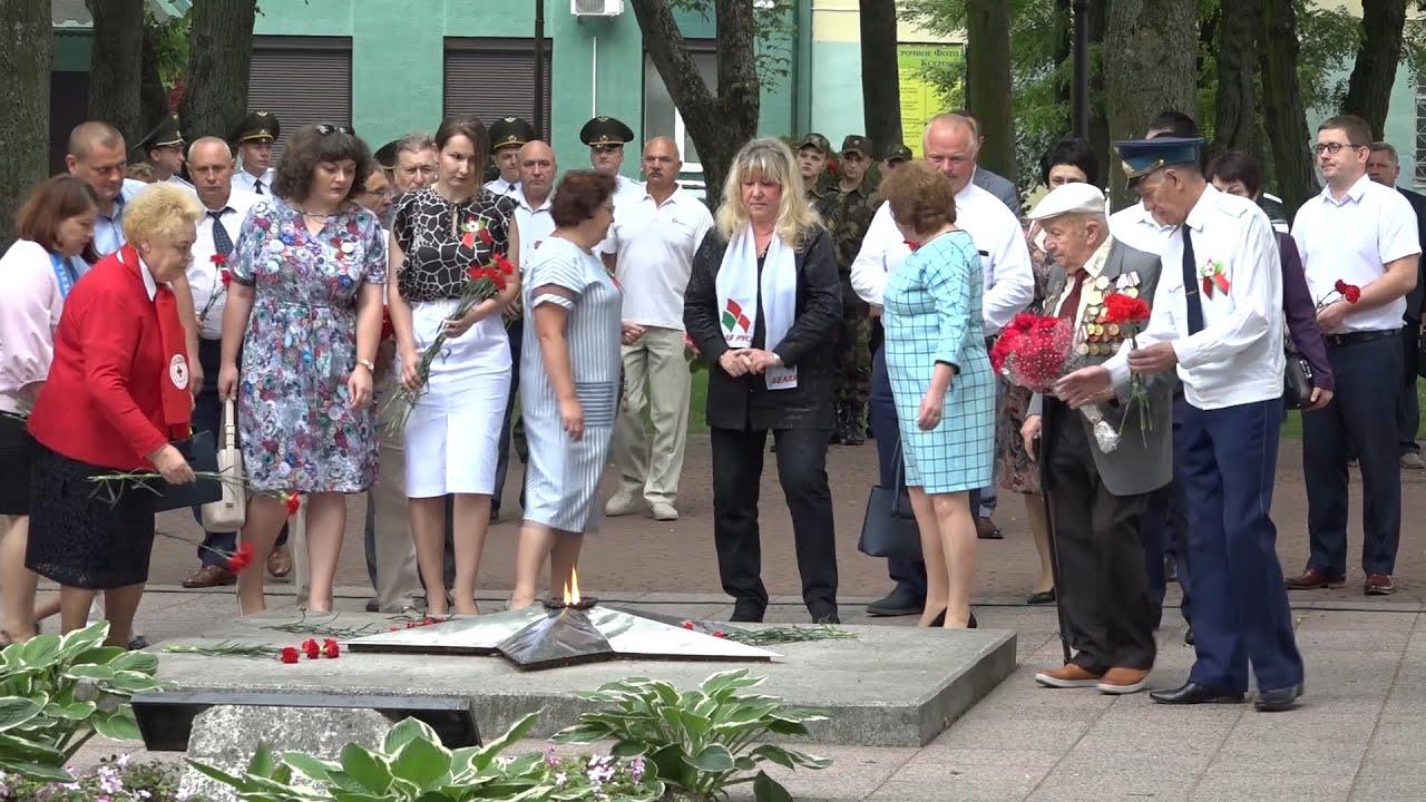 3 июля березовчане отметили главный праздник страны   День Независимости Республики Беларусь