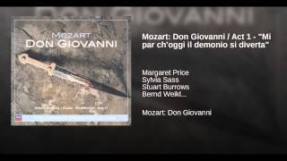 "Mozart: Don Giovanni / Act 1 - ""Mi par ch"