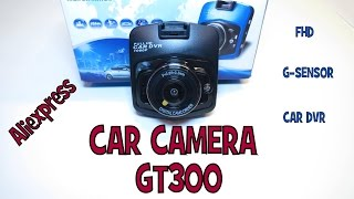 ►TEST GT300 → Car camera ALIEXPRESS │Aliexpress česky│Unboxing - rozbalovačka - TEST DVR