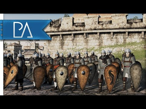 LAST STAND OF THE VARANGIANS: EPIC SIEGE - Medieval Kingdoms Total War 1212AD Gameplay