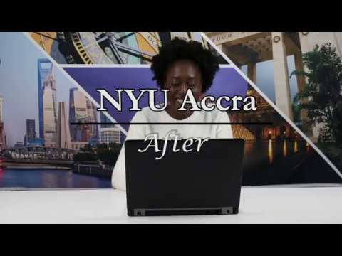 Before & After NYU Accra: Temi
