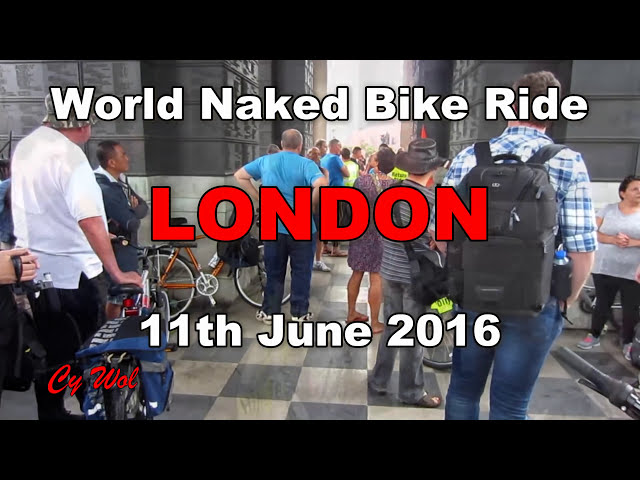 World Naked Bike Ride London (WNBR) 2016