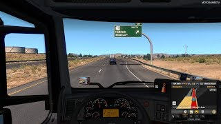 American Truck Simulator - Kingman to Holbrook Gameplay