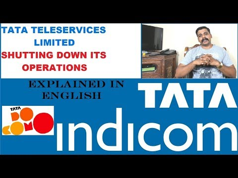 Tata Teleservices Limited Shutting down its operations