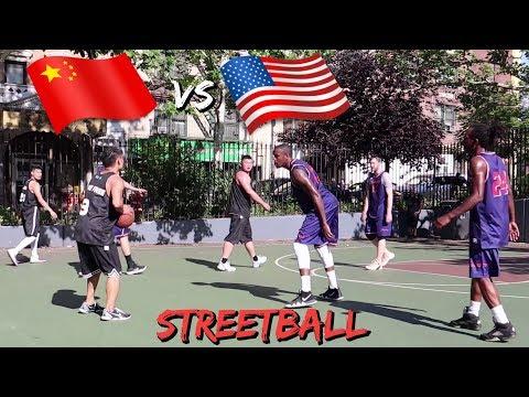 EPIC STREETBALL GAME NEW YORK CITY vs...