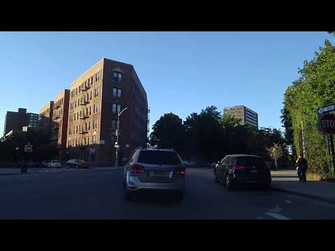 Driving from West Farms to Fordham Manor in the Bronx,New York
