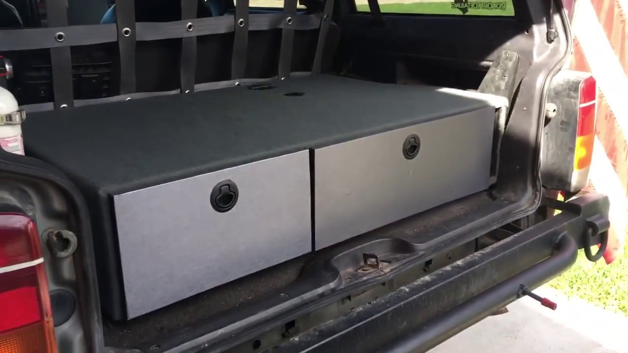 Jeep Cherokee storage/grill - YouTube